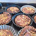 Paillassons de courgettes legers (cuits au four)