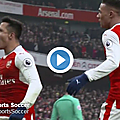 But arsenal vs hull city vidéo résumé (2-0)