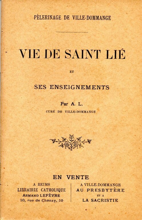 VIE DE ST LIE AL874 - Copie