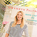 Cooking with gwyneth ...