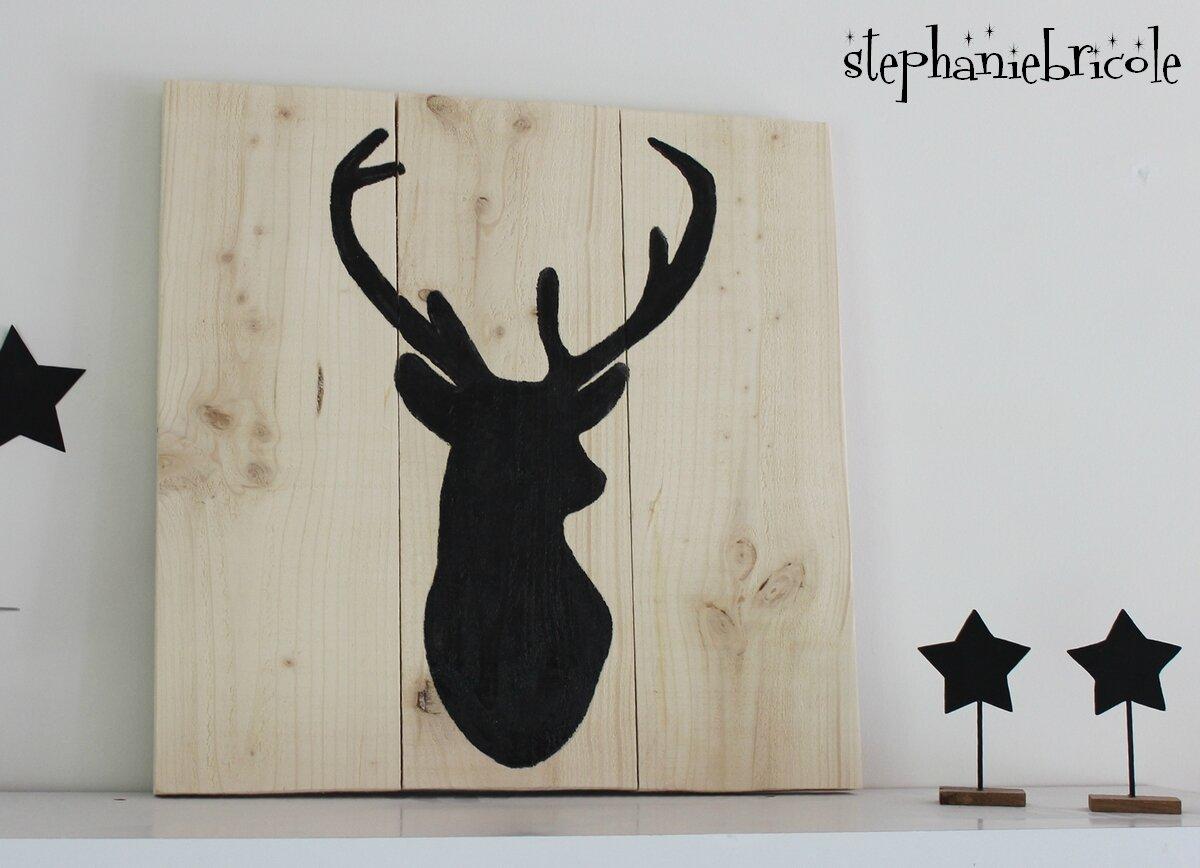 St phanie bricole - Comment decorer un plateau en bois ...