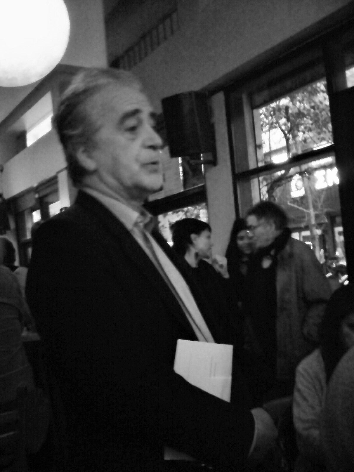 Café littéraire du 29 mars à Athènes.