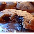 Cookies aux cacahuètes et pépites de chocolat maison