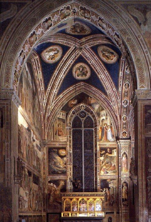 Chapelle Baroncelli (vue d'ensemble)