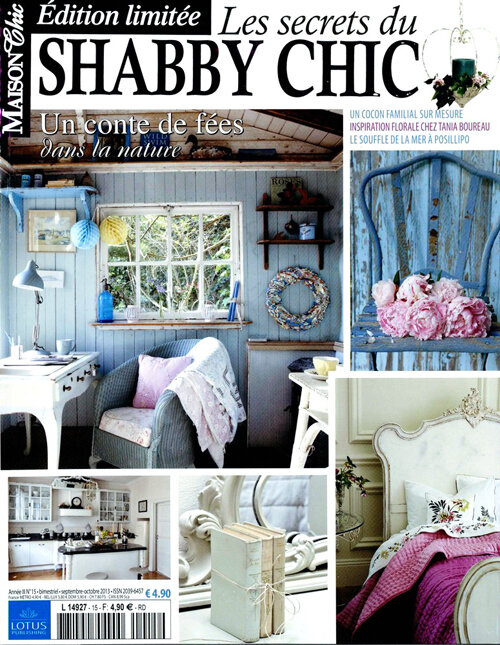 Grange de charme dans maison chic grange de charme for Abonnement maison chic magazine