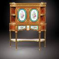 Sotheby's to Auction Very Rare Secrtaire with Sevres Porcelain Plaques Stamped A. Weisweiler