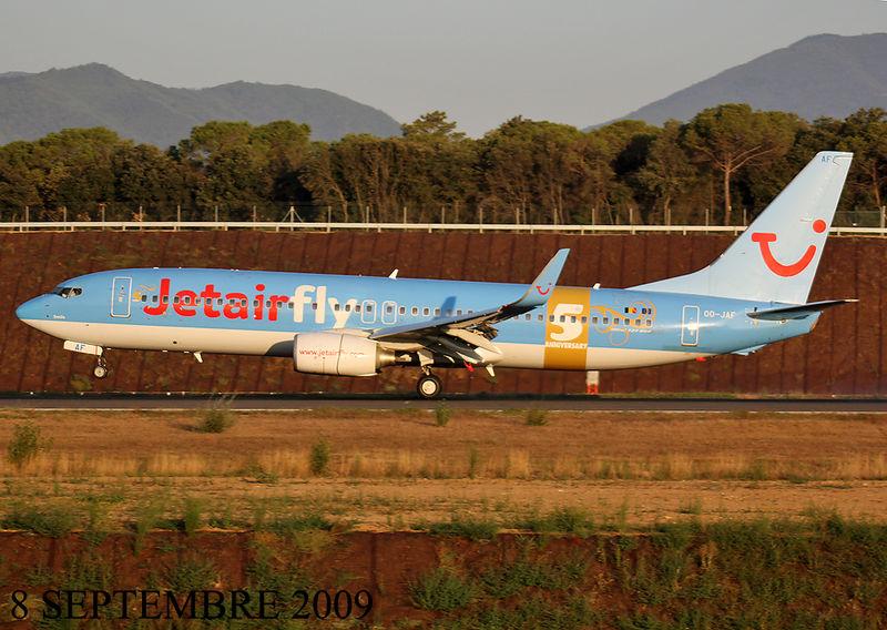 JETAIRFLY (TUI AIRLINES BELGIUM) 5 TH ANNIVERSARY