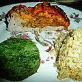 Roti de veau coppa et mimolette