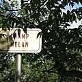 Les panneaux de rues