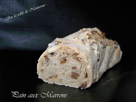 Pain aux Marrons
