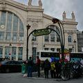 Station Gare du Nord Lignes 4 & 5.