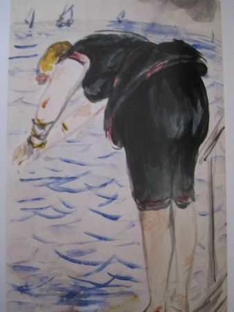 Isabelle plongeant 1880