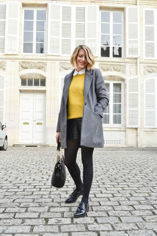 Preppy in yellow - Styl iz (1)