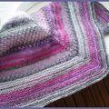 Textured shawl : le numéro 2