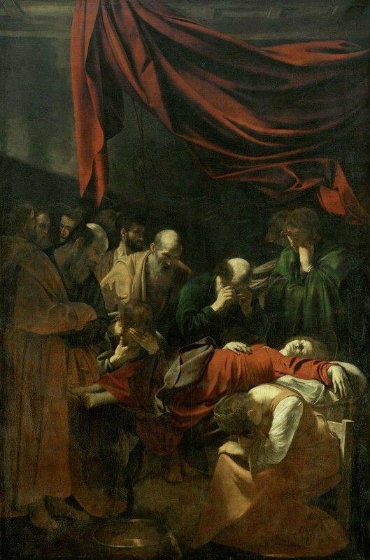 Le Caravage, La Mort de la Vierge