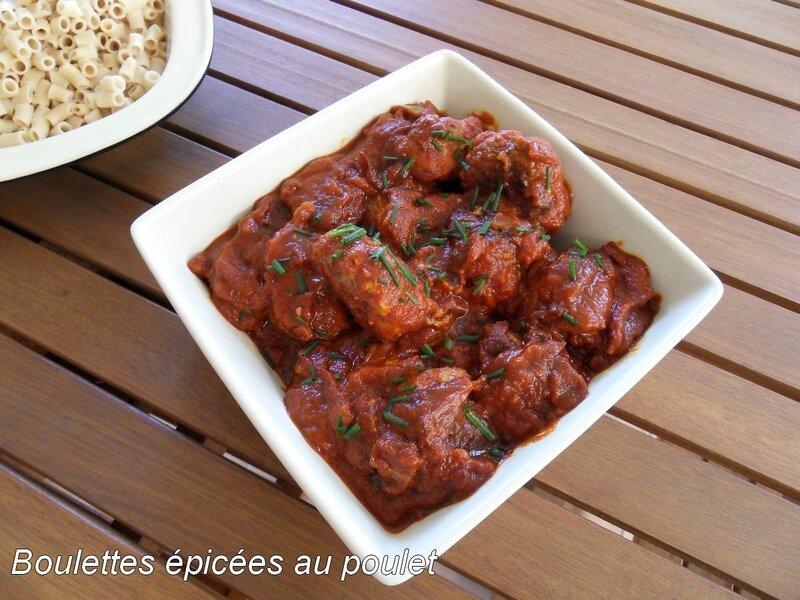 boulettes épicées au poulet1