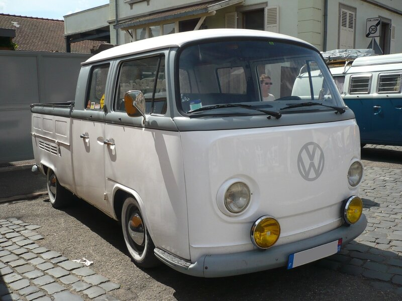 VOLKSWAGEN Combi type 2 Doka double cabine pick up Molsheim (1)