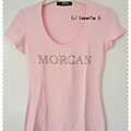 ★ t-shirt rose morgan ★