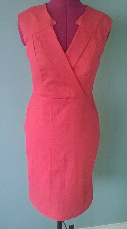 Robe Vogue rose