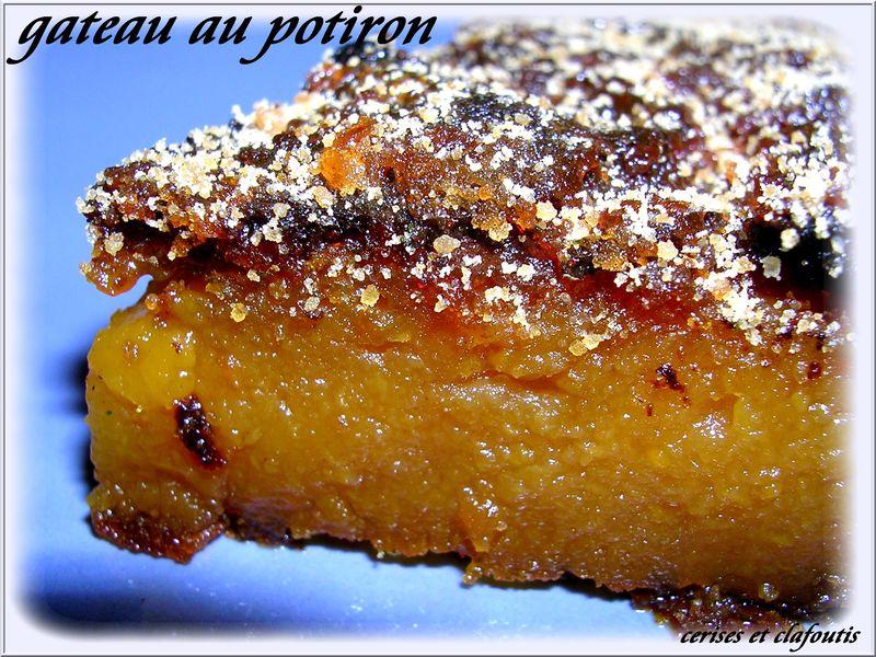 Recette Gateau Au Potiron