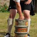 Unofficial event: beer barrel over the bar
