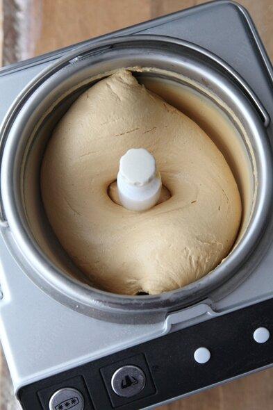 Crème glacée au caramel salé selon Philippe Conticini