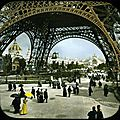 World Expo 1900 in colored photos