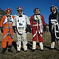 L'escadron d'endor: chapitre 2, pilote de a wing, l'escadron au complet.
