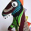 2-Doudou Dinosaure - Buste de Diego dino copie