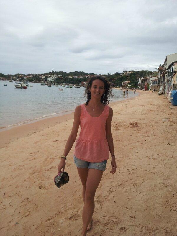 RDC - Lucie sur la plage