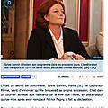 Municipales : articles de presse