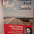 Canada, de richard ford