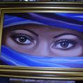 Les yeux du désert (d'après Mysterious eyes)
