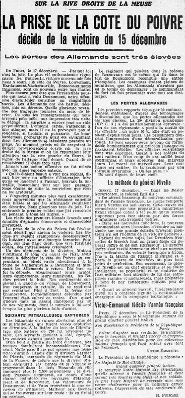 Cote du Poivre O-E 18 12 1916