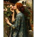 waterhouse-john-william-the-soul-of-the-rose-1054962
