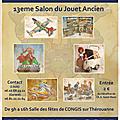 Salon du jouet ancien congis toys le dimanche 12 janvier 2014