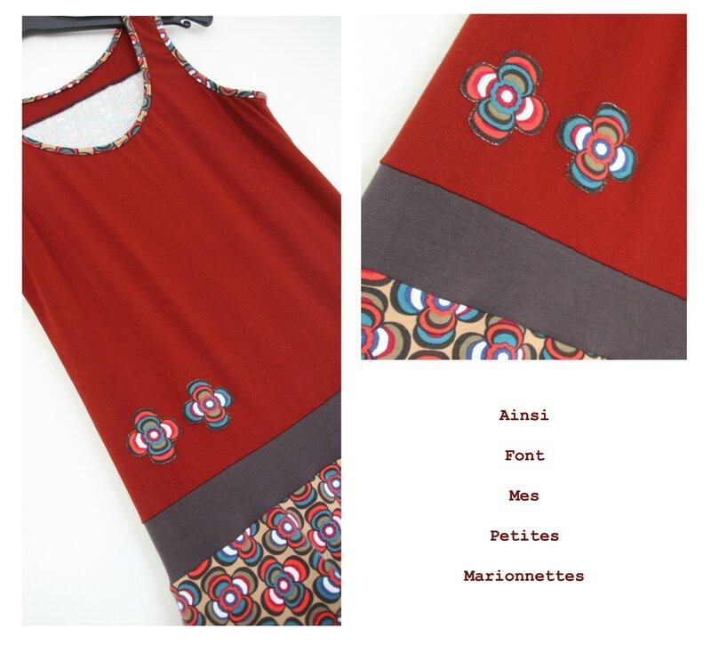 robe boule jersey sixties 4