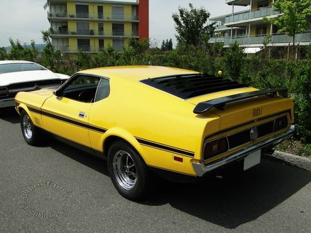 ford mustang mach1 fastback coupe 1971 1972 us car meeting schenkon 2012 4