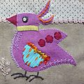 L'oiseau n11 du Bird Dance de Sue Spargo