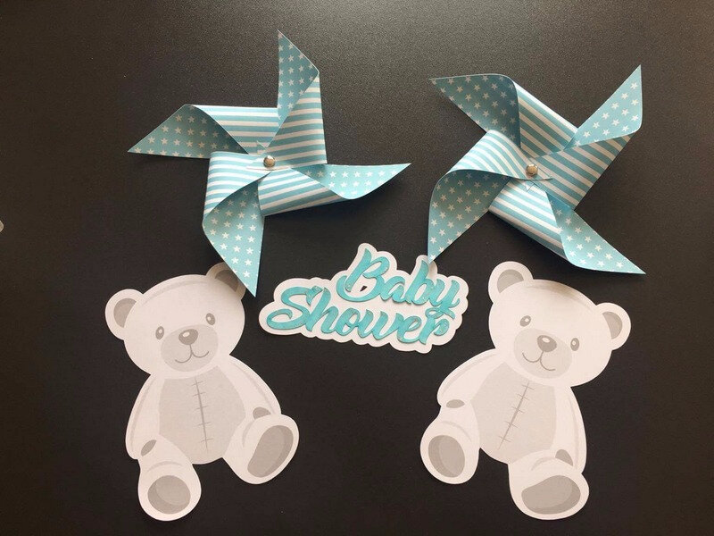 centre de table Baby Shower -miminesenfolie- (1)