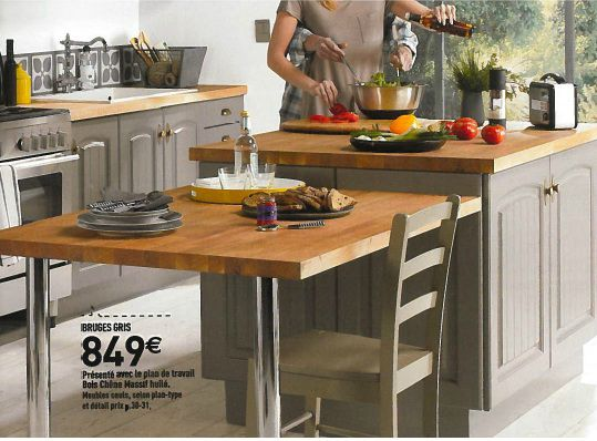 Modele bruges conforama photo de cuisine quip e en for Exemple de cuisine amenagee