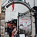 Dog-friendly restaurant : traiteur italien marché des enfants rouges - paris