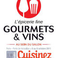 DES PLACES A GAGNER POUR LE SALON GOURMETS ET VINS / CUISINEZ !!!