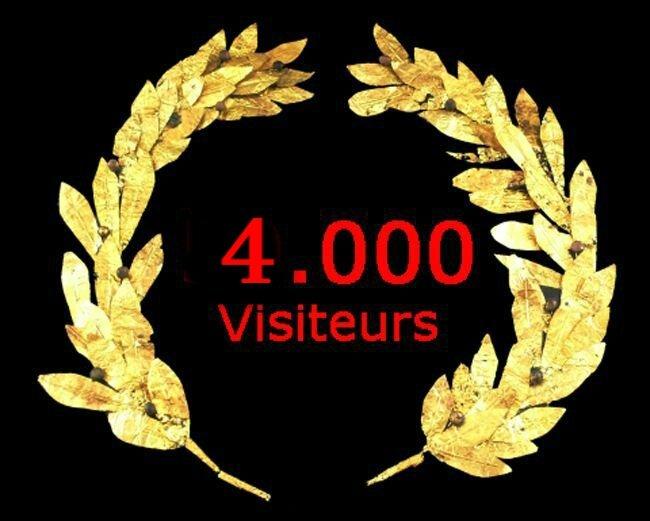 4000 visiteurs