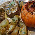 Filet mignon au pesto de pistaches