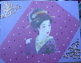 Lisa B - Geisha ladies 1 of 2 - (Scotland uk)