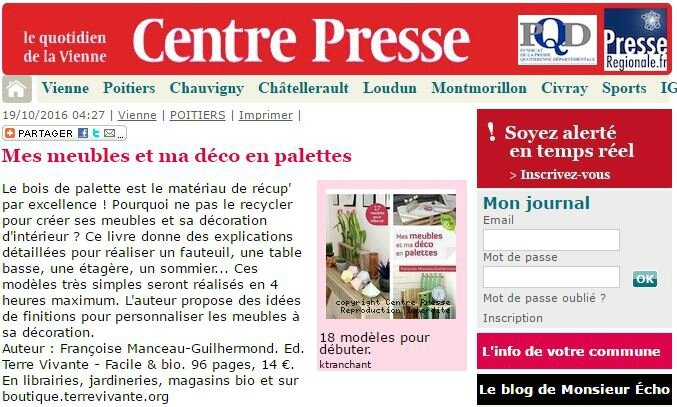 Centre presse du 19