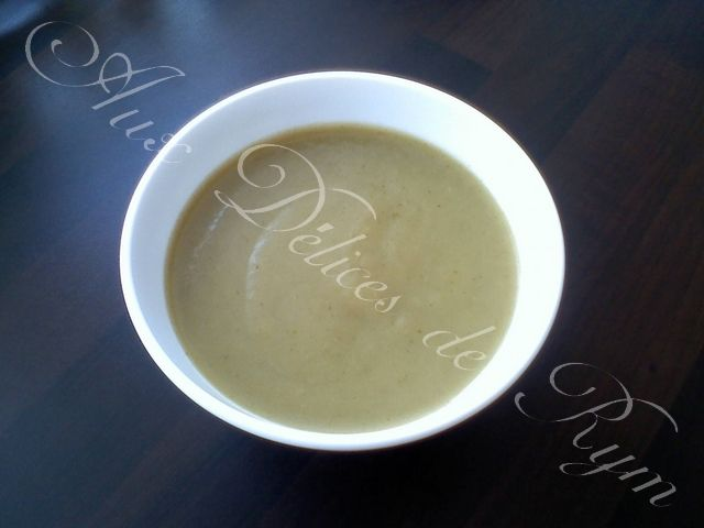 Ma soupe poireaux/pommes de terre