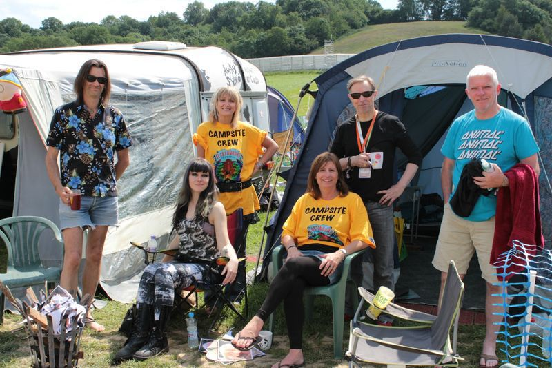 Glastonbury festival 2013 campsite crew South Parck