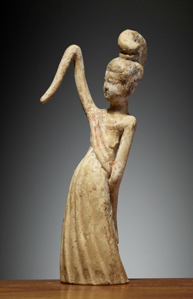 Danseuse, Chine, Dynastie des Tang (618 – 907), 7° siècle
